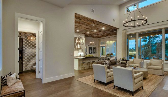 Main Floor Plan Ideas For New Homefoyer Opens To A Large Living Magnificent Large Living Room Design Decorating Inspiration