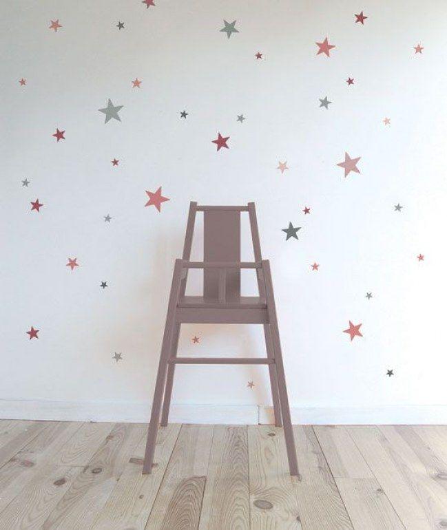 25 ideas para decorar con vinilos la habitación de los peques ...