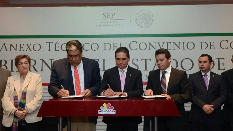 Se trata del primer estado en hacer la ampliación de recursos; se destinarán 265 mdp para alcanzar la meta de que 30 mil michoacanos mayores de 15 años salgan del ...
