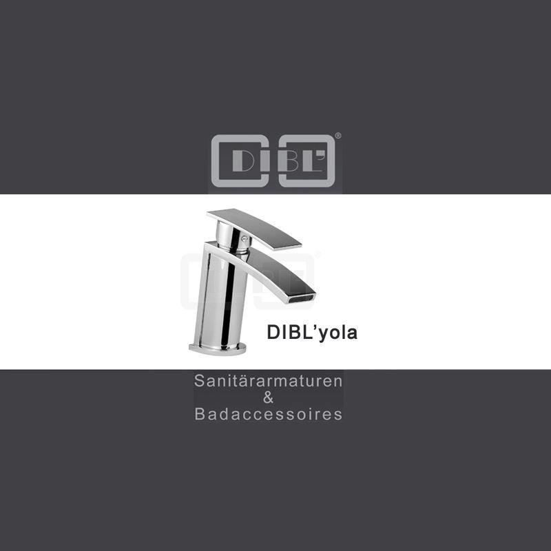 Schicke Design Wasserfall / Wasserschwall - Einhebelmischer - Armatur / Wasserhahn der Serie DIBL'yola