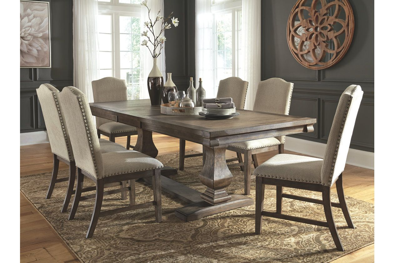 Johnelle Dining Room Table Ashley Furniture Homestore Ashley
