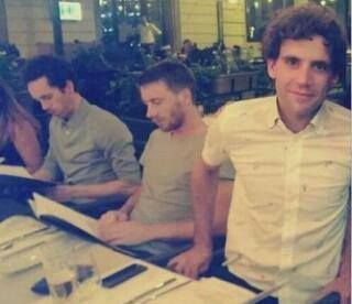 Mika with Ed & Curtis