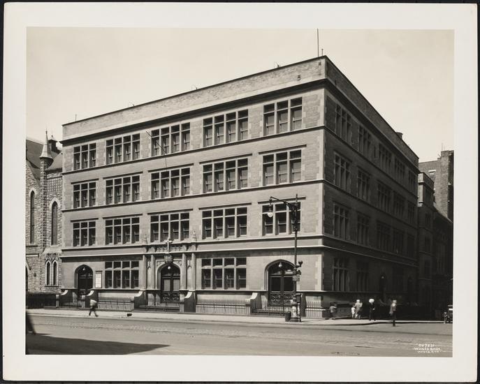 West 97th Street And Amsterdam Avenue Parochial School School Of