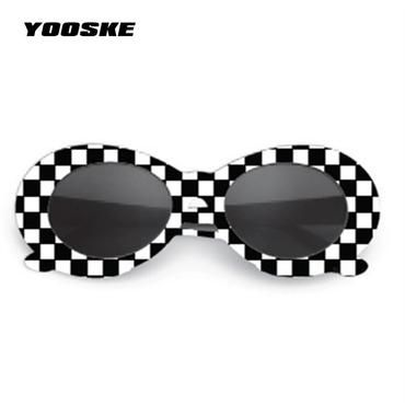 4fe8c029e2230 YOOSKE Clout Goggles Sunglasses NIRVANA Kurt Cobain Sunglasses Men Vintage  Retro Female Male Sun Glasses Women s