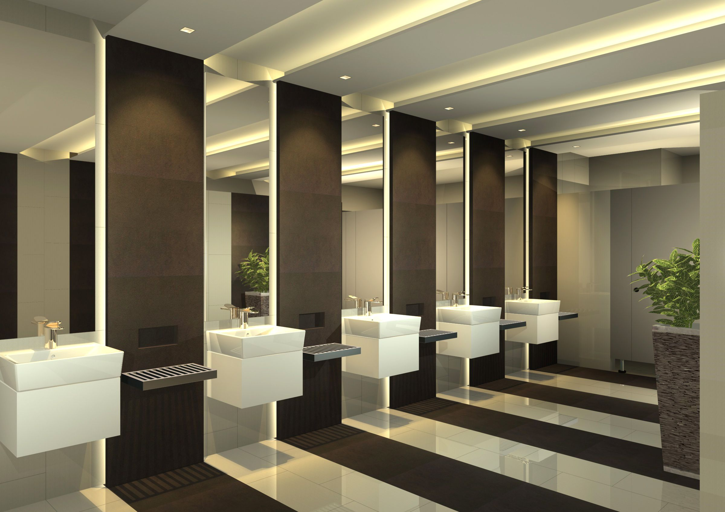 Treasury building toilet female s1 1 d3 11212014 office for Office bathroom designs