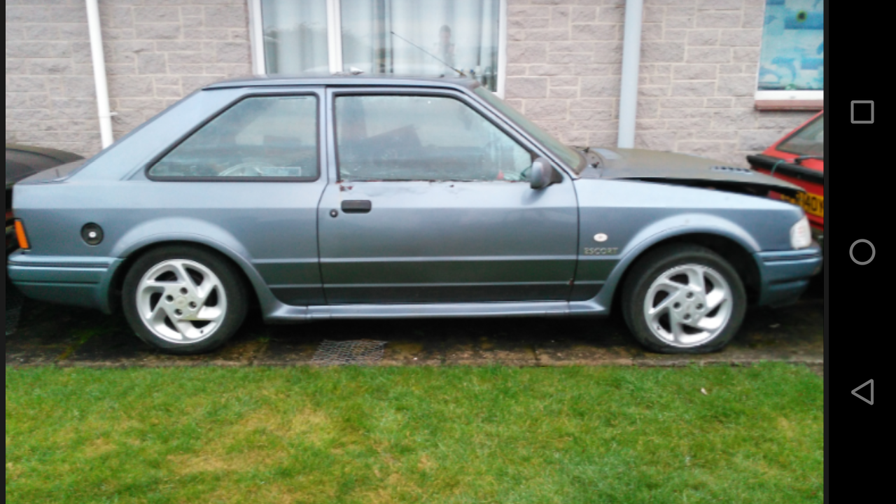Check Out This Fast Ford Ford S Escort Rs Turbo Project Spares