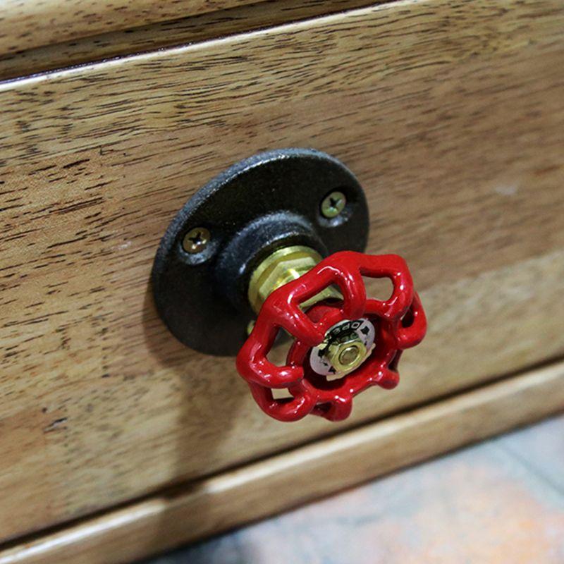 1 St Nieuwe Merk Vintage Industriële Pijp Deurknoppen