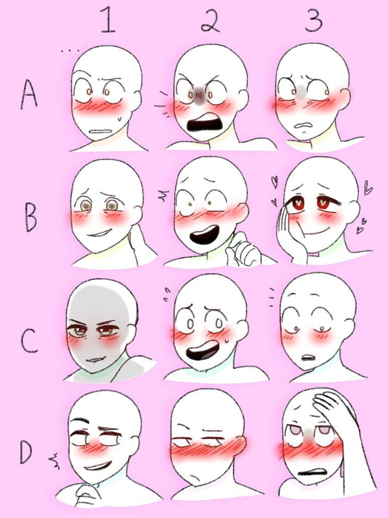 Blushing Meme By Bluebirdsandcanaries Drawing Expressions