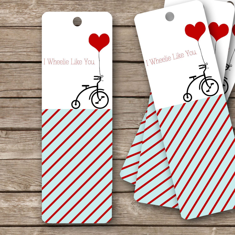 photograph regarding Printable Valentines Bookmarks called Printable Valentines Bookmarks - 2\