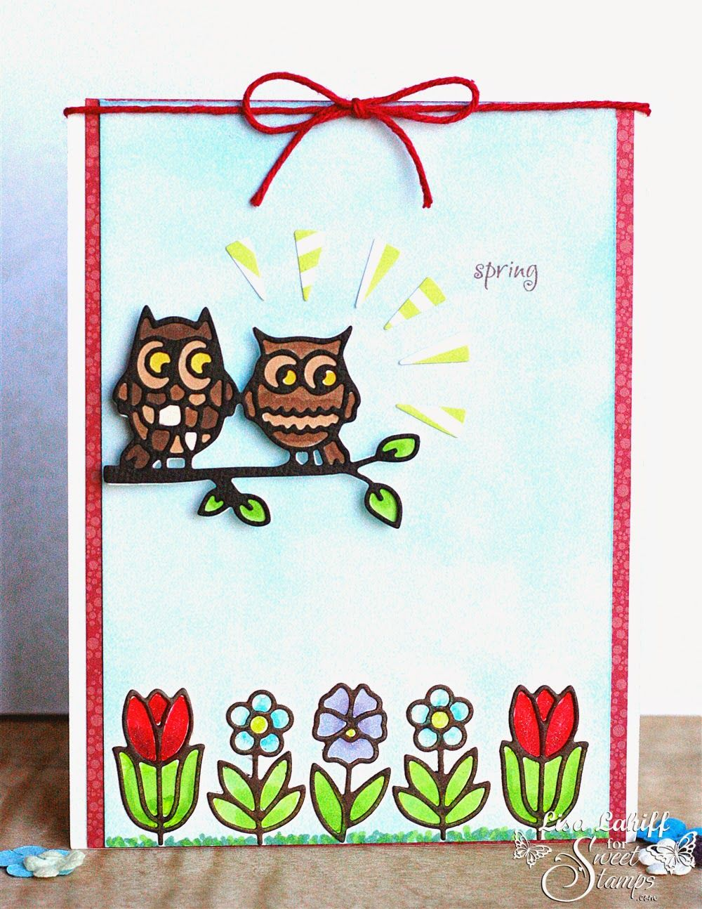 SweetStamps challenge 4/1/14 Use Dies; DT Lisa