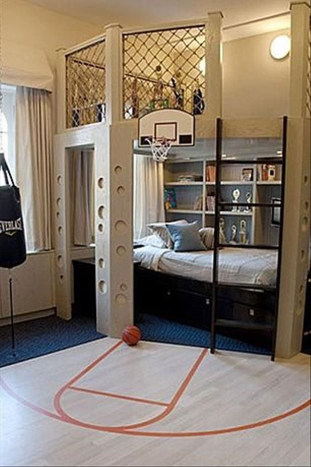 Meanwhile At My Pinterest Home- boys room | Cool boys room