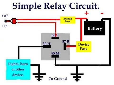 4 Pin On Off Switch Wiring Diagram