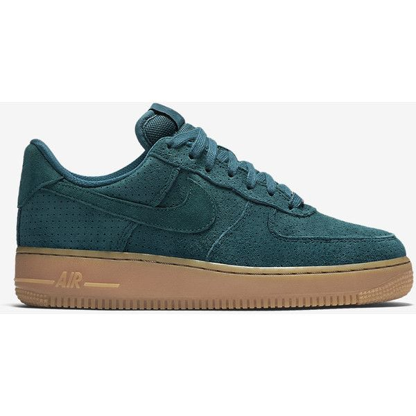 sports shoes d808c ee4a9 Nike Air Force 1 07 Suede Women s Shoe. Nike.com ( 95) ❤ liked on Polyvore  featuring shoes, nike, sneakers, suede shoes, nike footwear, suede leather  shoes ...