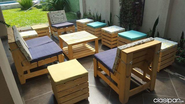 Resultado de imagen de muebles palets palets outdoor for Fabricamos muebles de jardin con palets