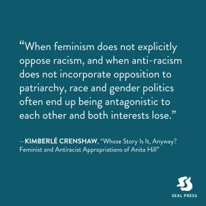 Kimberle Crenshaw quote. A professor at UCLA School of Law and Columbia Law School specializing in race and gender issues, Kimberlé Crenshaw is best known for coining the word 'intersectionality' in 1989.