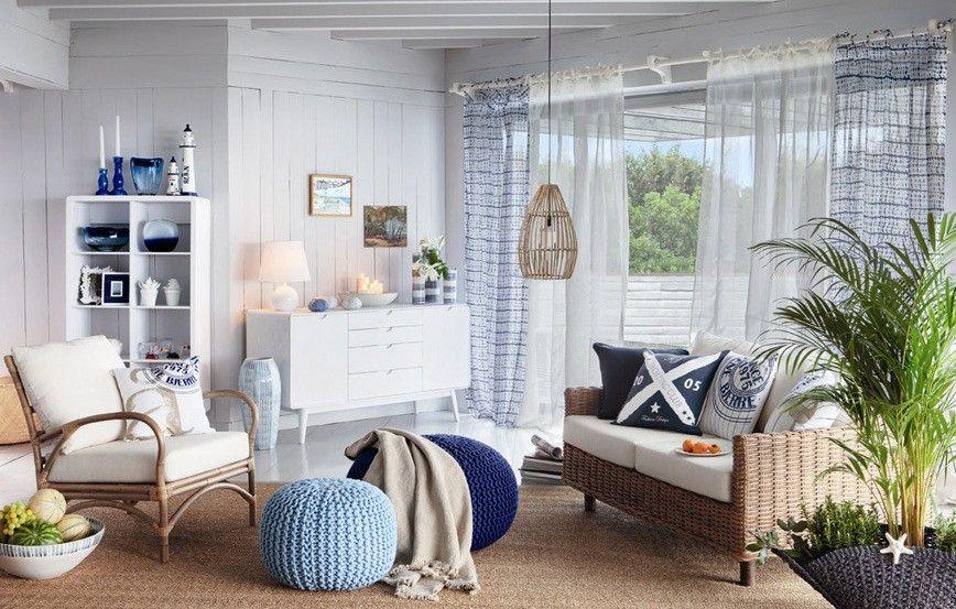 Arredamento Marinaro ~ Salotto in stile marinaro ristrutturazione casa
