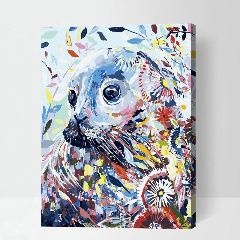 Pin Auf Tiere Malen Nach Zahlen