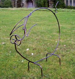 Superieur Iron Garden Sculptures