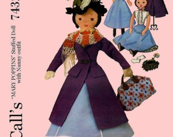 Brilliant Due Bellissime Bambole Mary Poppins Vintage Complete Dolls Modern Techniques Bambole