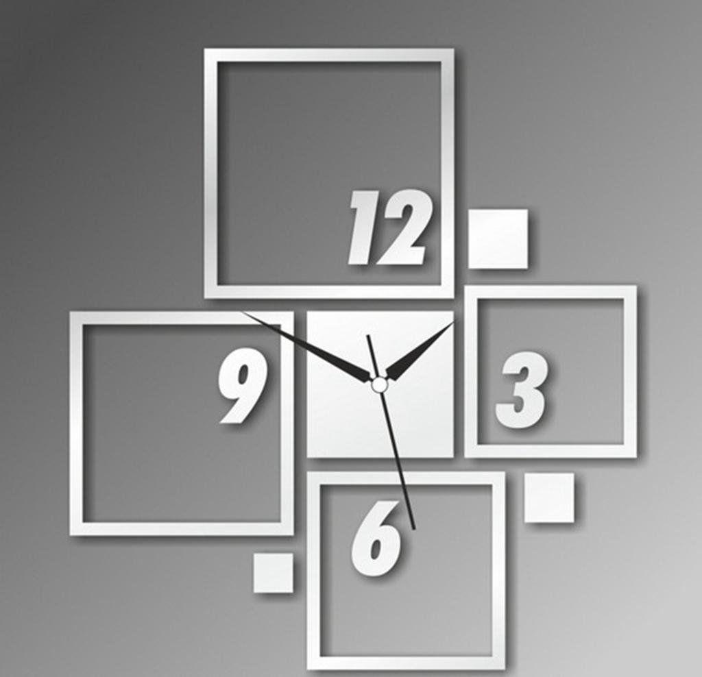 Alva diy mirror wall sticker clock drawing room tv background alva diy mirror wall sticker clock drawing room tv background decornowc28 details amipublicfo Images
