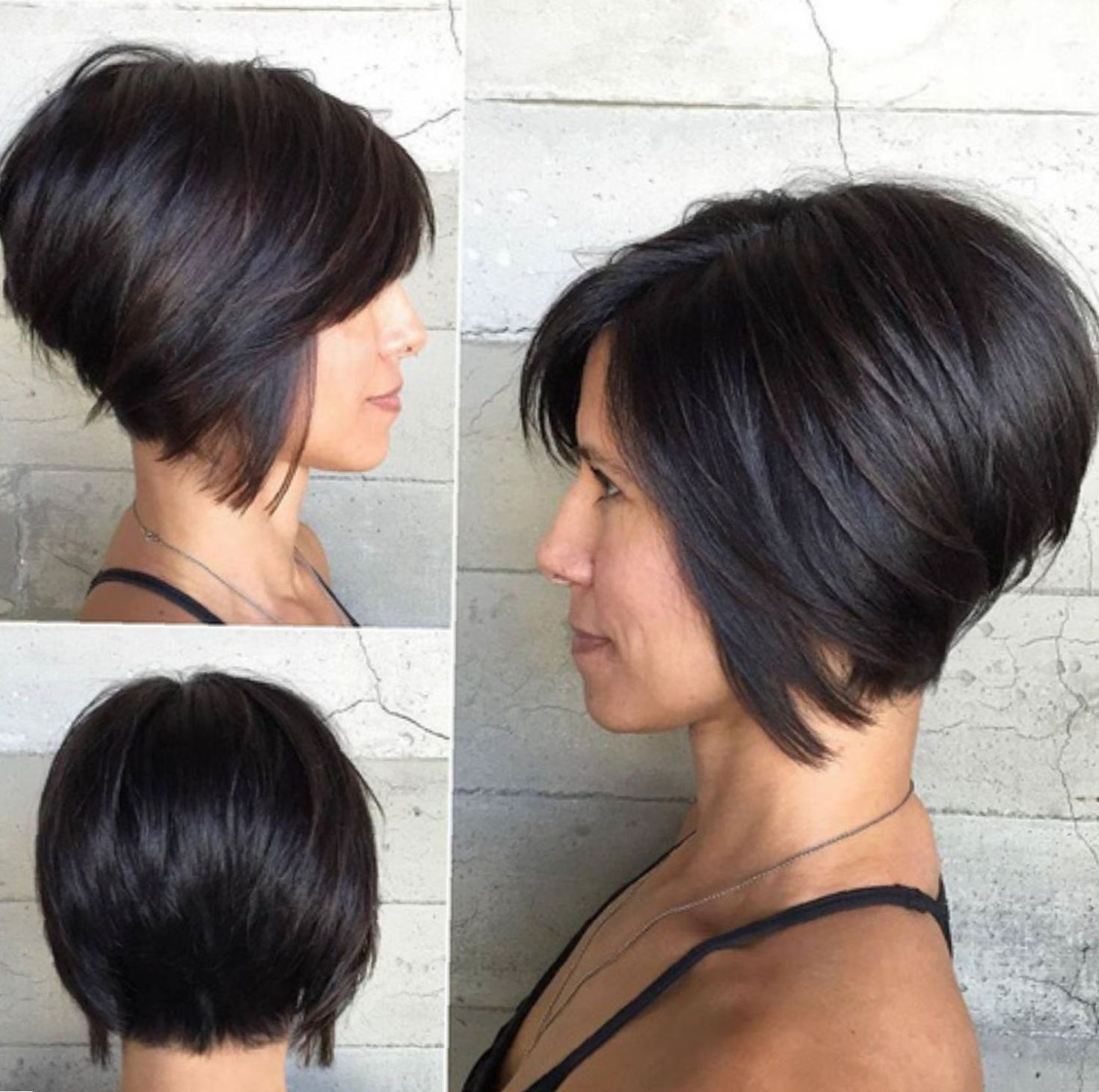 99 Wonderful Mind Blowing Short Curly Haircuts For Fine Hair 2020 In 2020 Thick Hair Styles Short Inverted Bob Haircuts Inverted Bob Haircuts