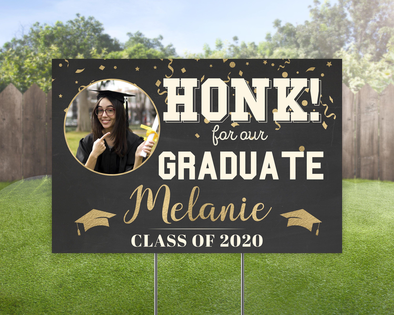 Class of 2021 yard sign graduation lawn sign graduate