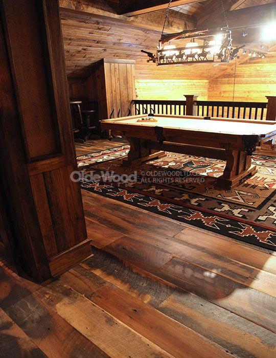 Reclaimed Historic Plank Flooring | Rustic Wood Floor | Olde Wood ...