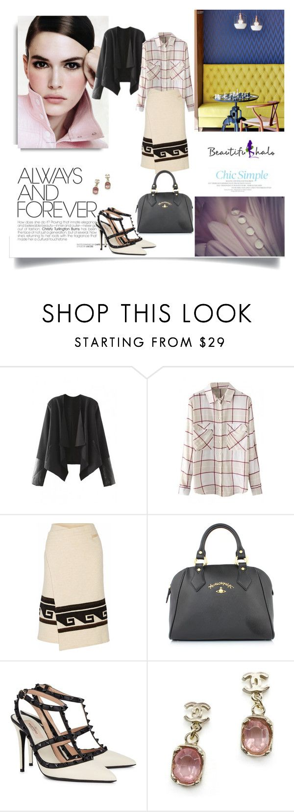 """""""www.beautifulhalo.com"""" by nahed-samer ❤ liked on Polyvore featuring Isabel Marant, Vivienne Westwood, Valentino, Chanel and beautifulhalo"""
