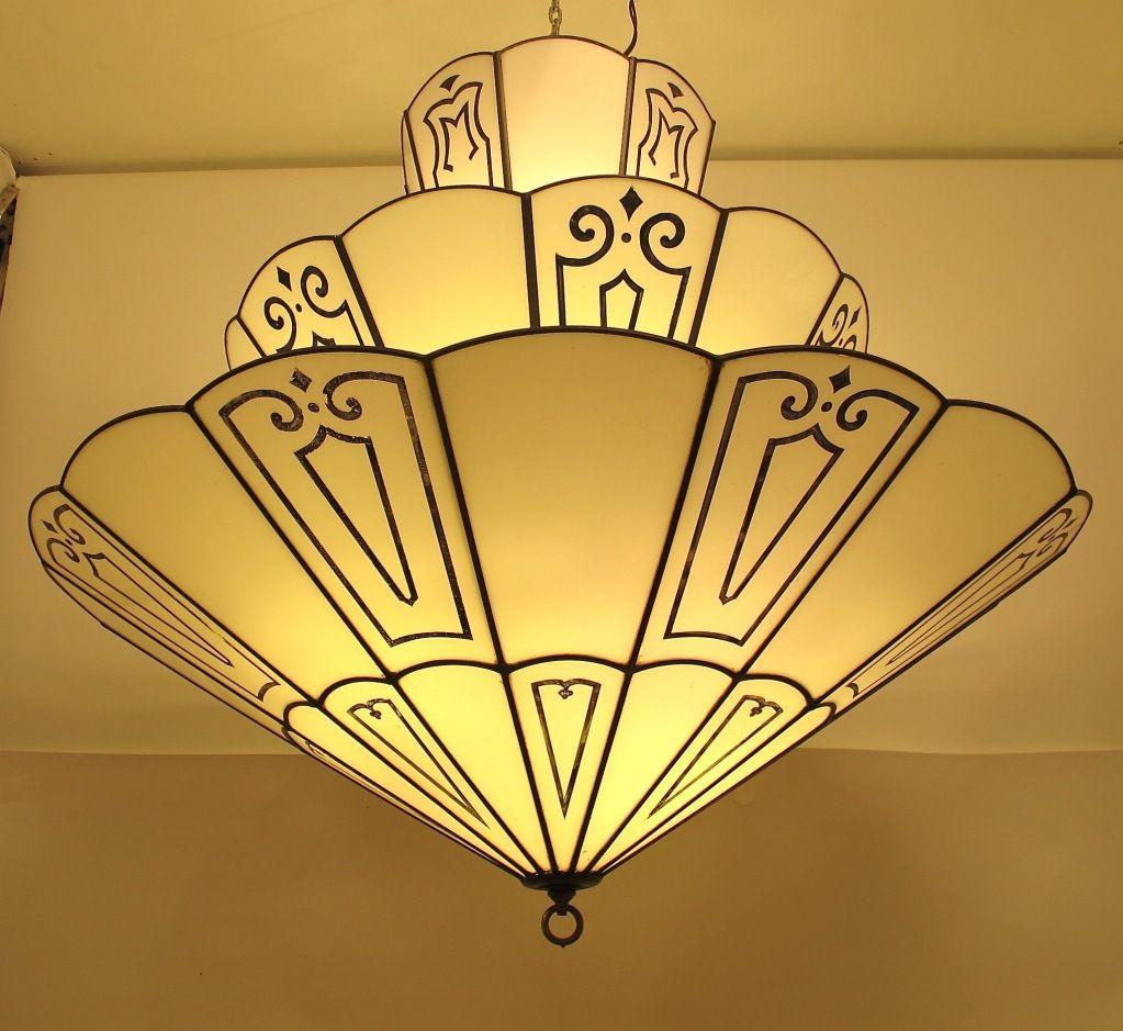 Large Art Deco Theatre Light Fixture Art Deco Lighting Art Deco Lamps Art Deco Interior