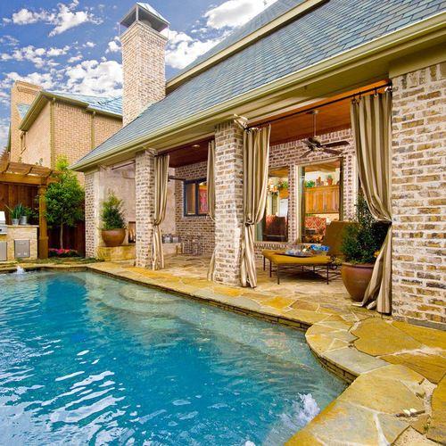 Small Backyard Pool Wohnideen Und Einrichtungsideen Houzz