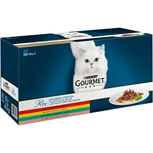 Purina Gourmet Perle Erlesene Streifen Katzennassfutter Mit Huhn