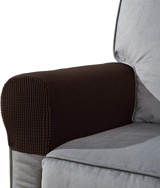 Chun yi set of 2 stretch polyester sofa armchair armrest