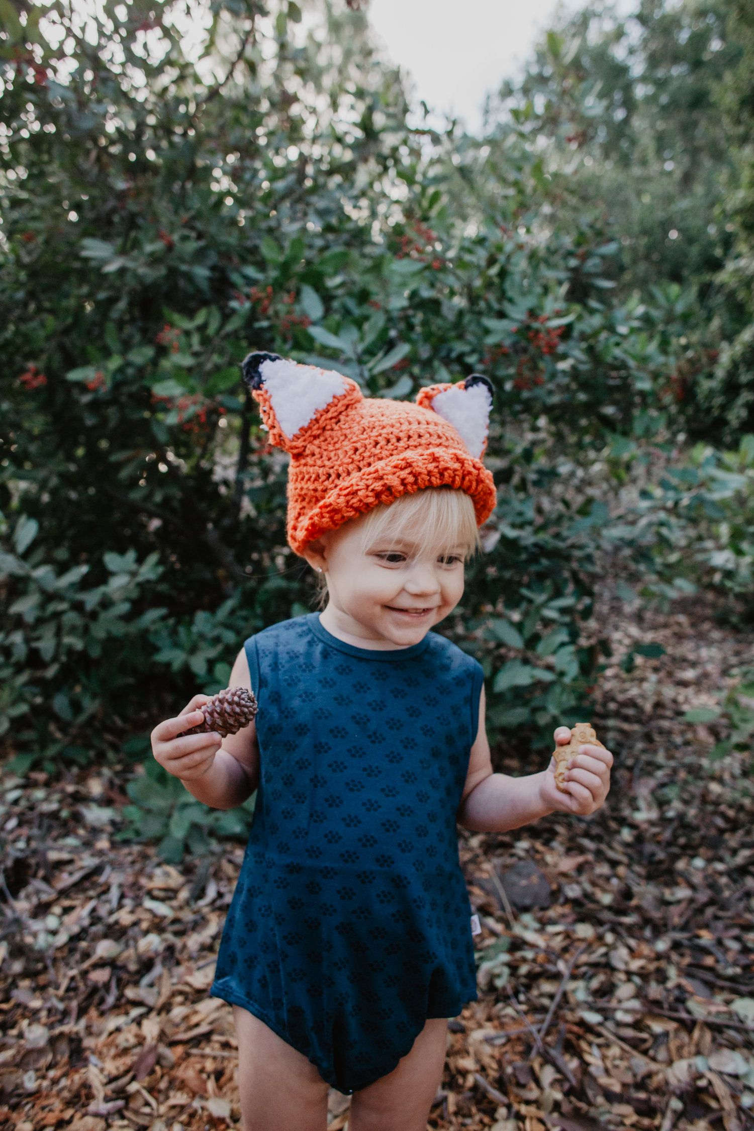 Baby Fox Beanies - Knit Kids Fox Hat - Baby Halloween Costume Ideas -- Mommy  sc 1 st  Pinterest & What does the fox say? | Baby halloween costumes Baby halloween and ...