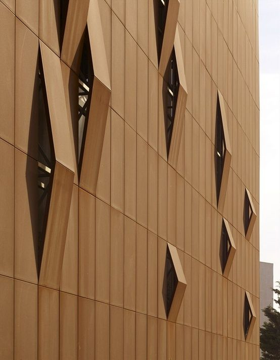 details oriented by shape+space Facade Architecture, Facade