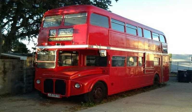 1966 Leyland Double Decker Bus Food Trucking Food Truck Food
