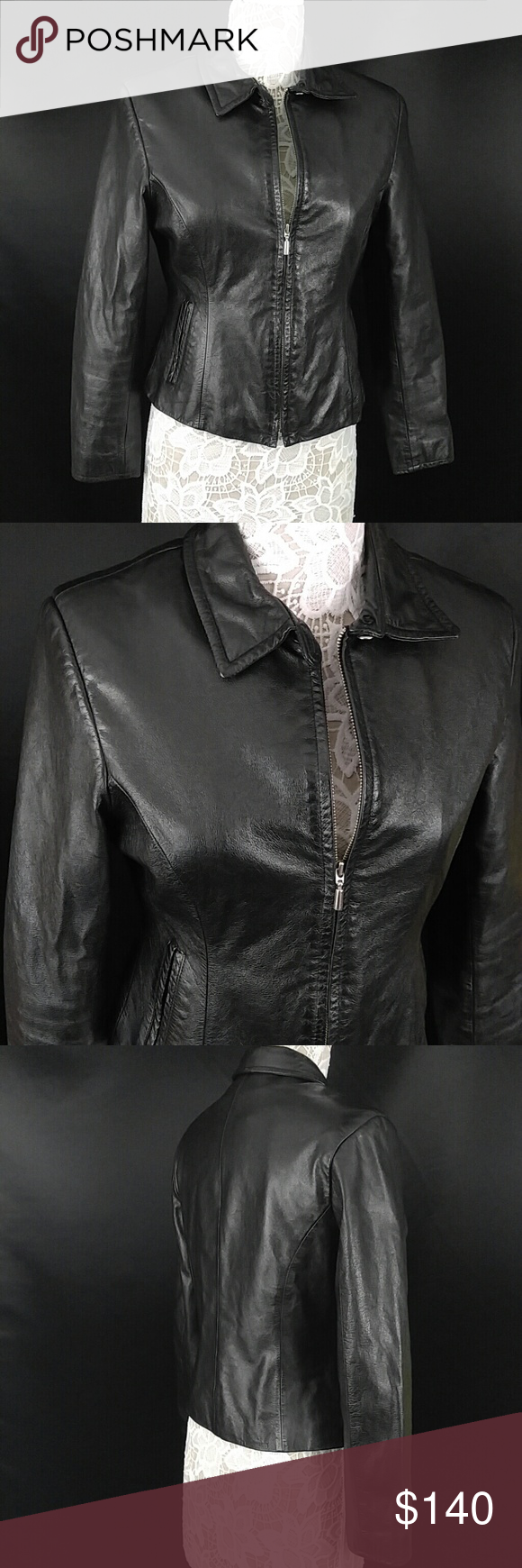 Wilson's leather coat Amazing like new condition!!! 100