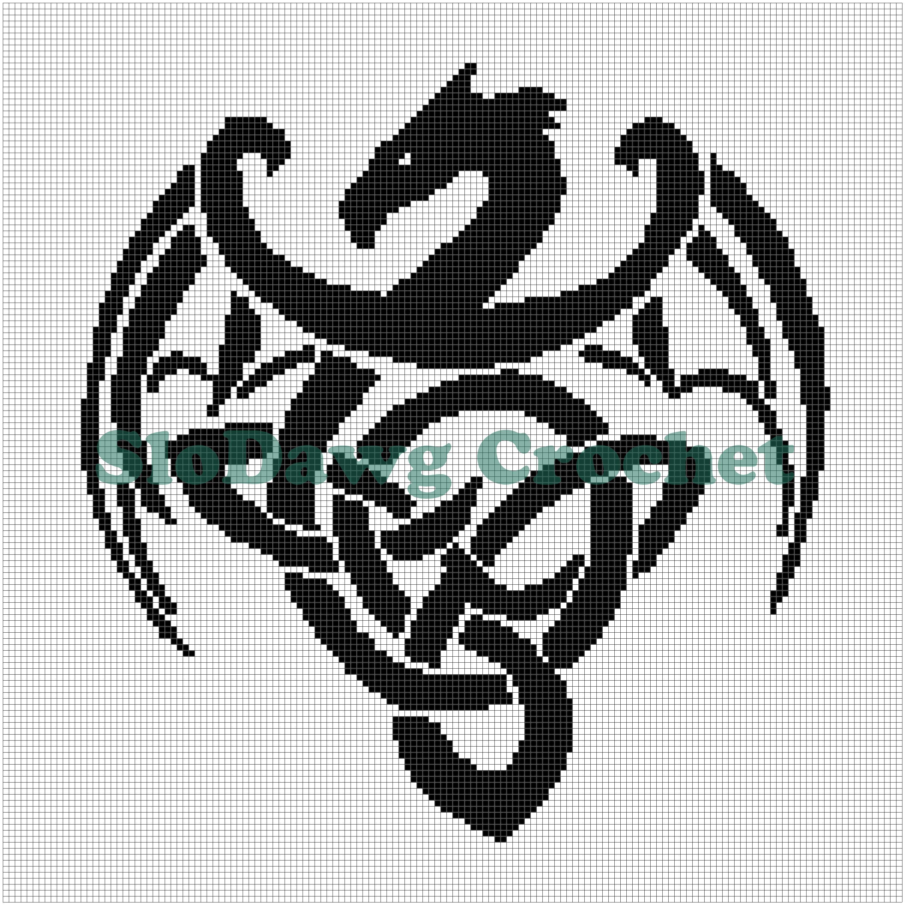 Celtic Dragon graph pattern | Celtic symbols | Pinterest ...