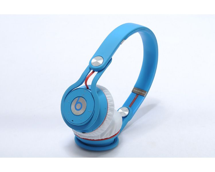Beats By Dr Dre Mixr Wireless On Ear Headphones Blue 279 95