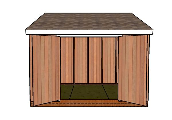 8 12 Lean To Shed Roof Plans Shed Plans Lean To Shed Diy Shed