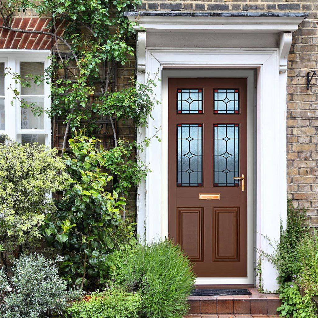 Dale High Performance Lydford Optimal Door & Frame Set - Fully Decorated. #doorandframeset #externaldaledoor #highperformancedoor