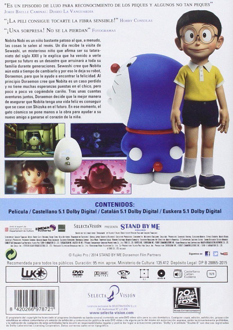 Doraemon Stand By Me [DVD] #Doraemon, #Stand, #DVD   Doraemon, Dvd,  Personajes animados