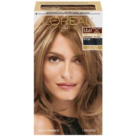 Amazon Com L Oreal Paris Superior Preference Color Care System Hi Lift Ash Brown Beauty I Loreal Hair Color Light Ash Brown Hair Color Ash Brown Hair Color