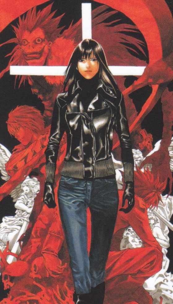 Misora Naomi Death note, Anime, Manga
