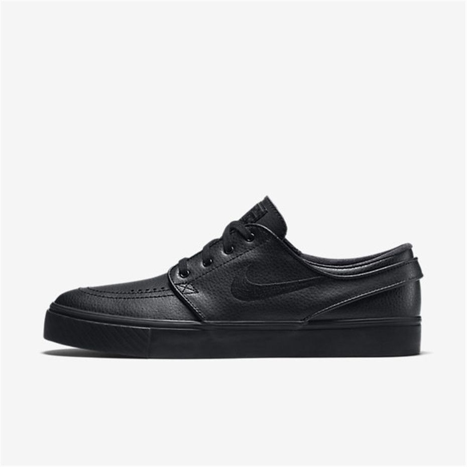 Discriminación sexual argumento melodía  Nike SB Zoom Stefan Janoski Leather (Black / Black / Anthracite / Black) |  Leather shoes woman, Work shoes women, Nike lifestyle shoes