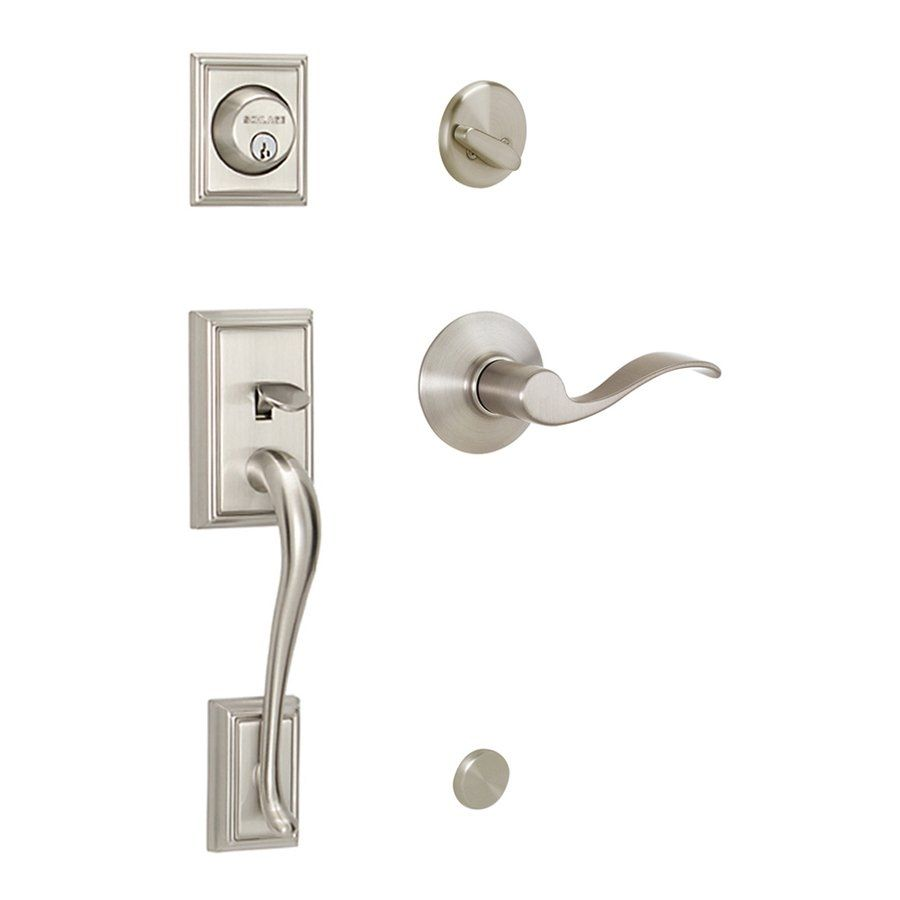 Schlage Exterior Door Handlesets | http://thefallguyediting.com ...