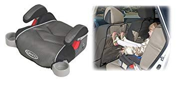 Graco Backless TurboBooster Booster Car Seat With Backseat Kick Protectors Galaxy Review