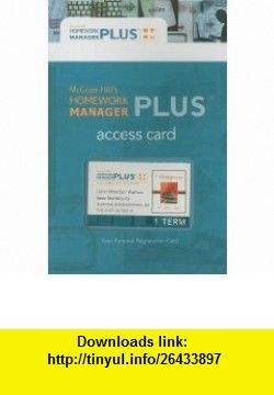 Buy homework manager access code