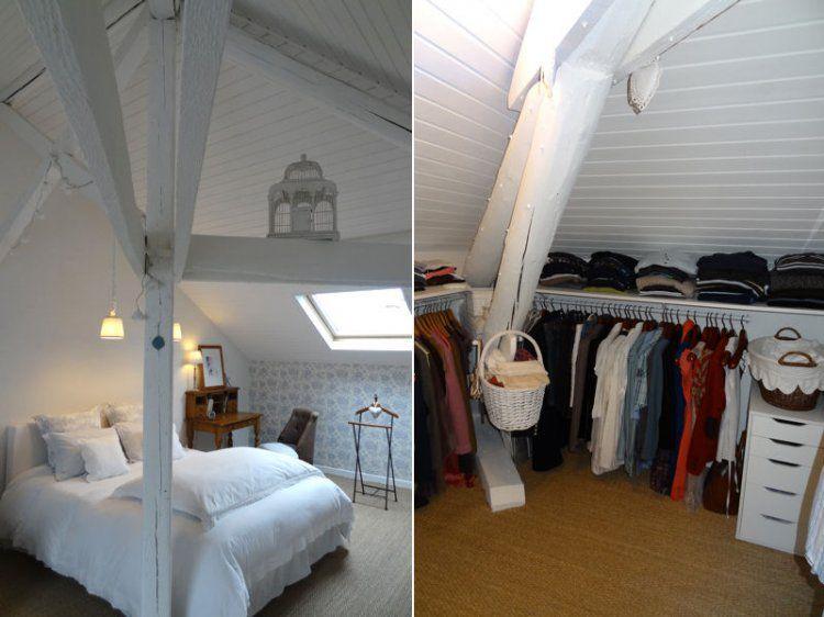 Entre inspirations flamandes et d co de charme cette demeure offre un int rieur cosy et - Deco chambre comble ...