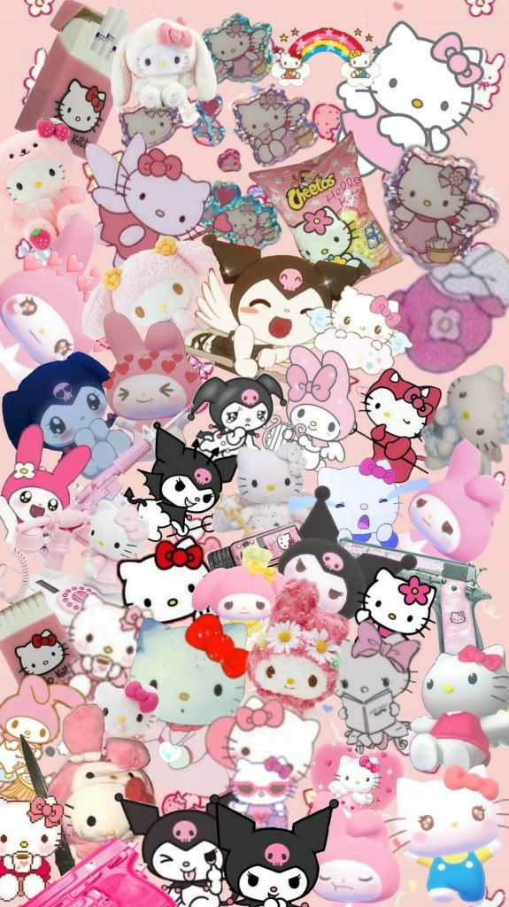 What Makes Me Happy Meow In 2021 Hello Kitty Iphone Wallpaper Hello Kitty Wallpaper Hello Kitty Backgrounds Iphone hello kitty aesthetic wallpaper