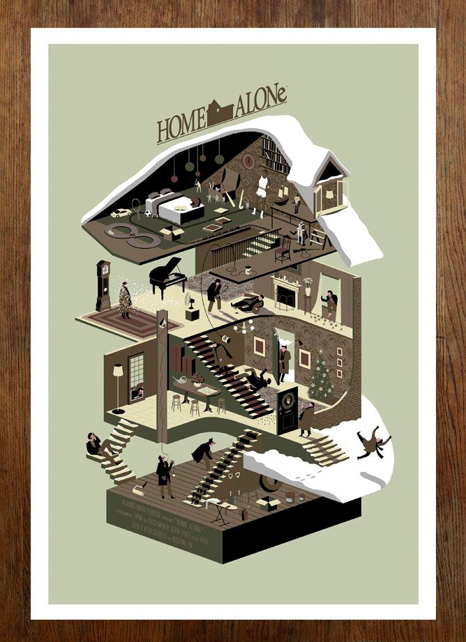 Home Alone - Twentieth Century Fox/Mondo - www.adsimpson.com
